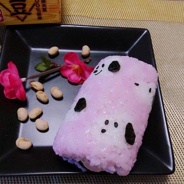 恵方巻き♡スヌーピーデコ太巻き弁当