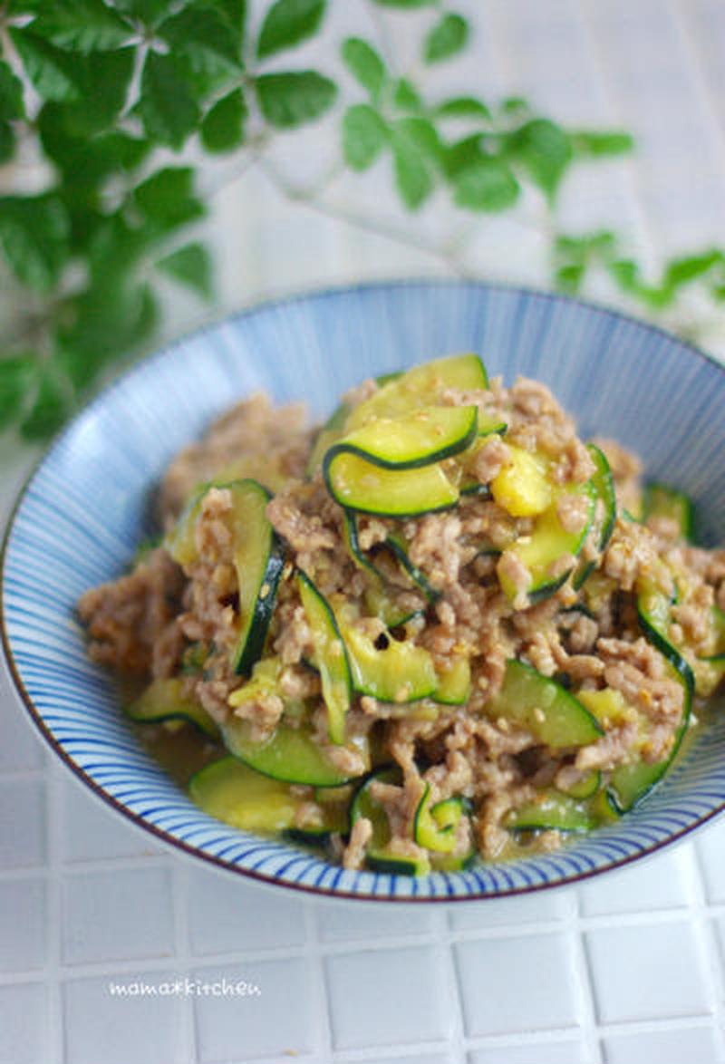 旬の夏野菜をおいしく消費!「ズッキーニ×肉味噌」満足レシピ5選