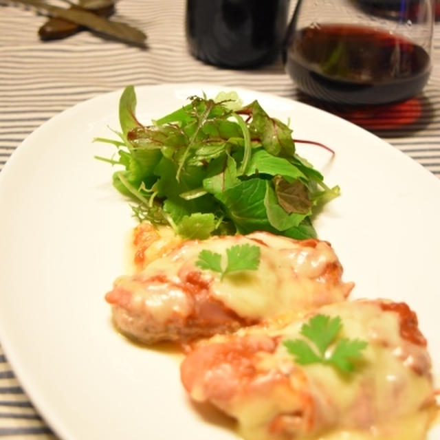 「サルティンボッカ」全部フライパンに入れるだけの簡単おもてなしレシピ。
