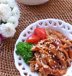 やわらか鶏ササミ♪お酒まぶしてレンジでチン(^^)お弁当やおつまみにコリアンチキン