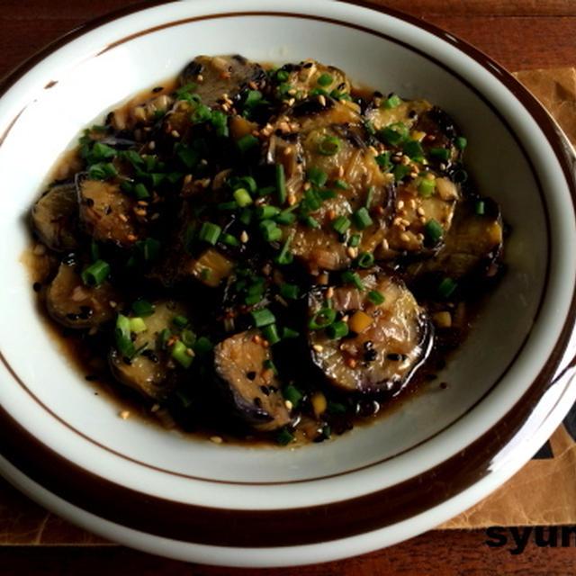 【簡単!!作り置き副菜】れんこんの塩きんぴらと、焼きナスの香味だれ