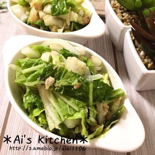 これからの季節に大活躍な♡白菜のさっぱり柚子胡椒サラダ♡
