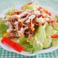 暑い日のワンプレート♪スタミナ焼肉サラダごはん by アップルミントさん