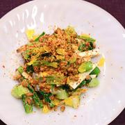 3月22日 木曜日 小松菜と長芋の納豆和え