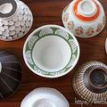 ニトリの粉引きから一点ものまで我が家のお茶碗色々・・・♪