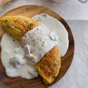 ソースにこだわりあり!「オムレツ」にもう一工夫で幸せ朝食を♪