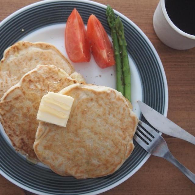 卵、小麦粉、乳製品不使用!とうもろこしのグルテンフリーパンケーキ