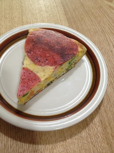 野菜を沢山食べてくれます 「お食事ホットケーキ」
