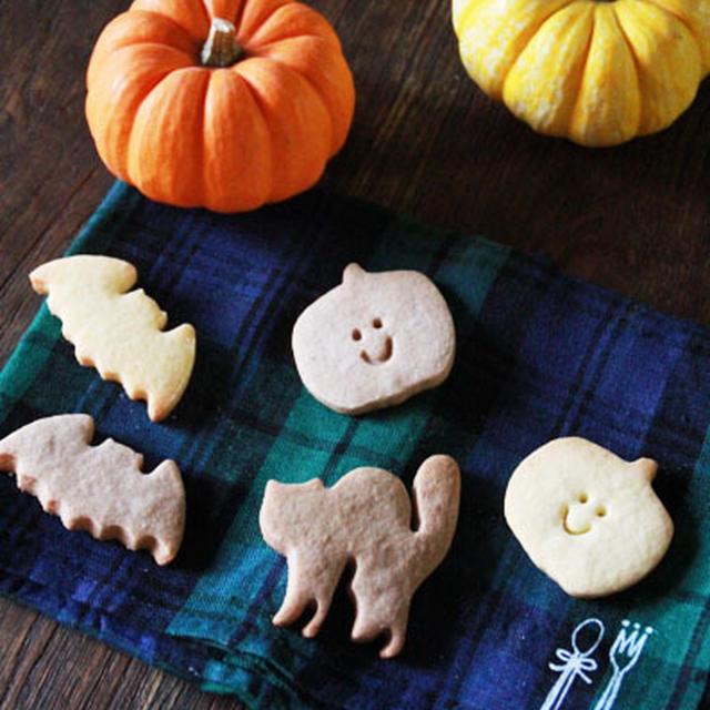 ハロウィンはクッキー作り♪