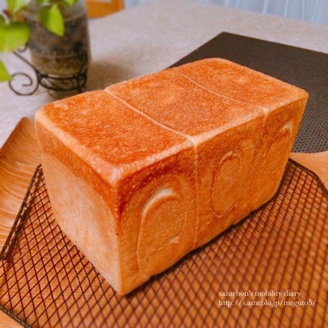ヨーグルト酵母の食パン