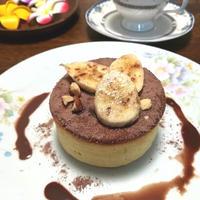 森永ホットケーキミックスで、ふんわりパンケーキ風ホットケーキ♪