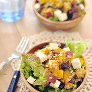 おなか大満足♪根菜のグレインズサラダ