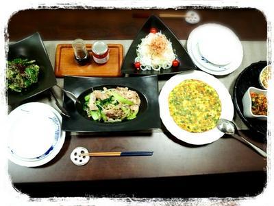 心平ちゃんレシピ&薫さんまつりの夜ごはん♪