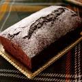 クリスマスの超簡単チョコレートケーキ☆パウンドケーキアレンジ by めろんぱんママさん