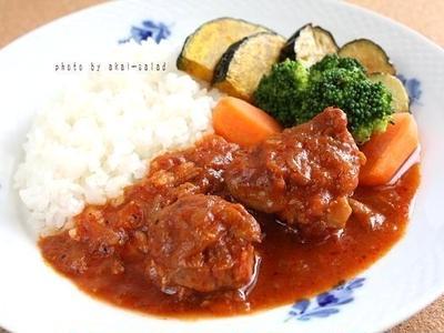 お美津さんの鶏の黒ビール煮