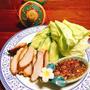 日本人が大好きタイ料理・コームーヤーン・トントロのグリル・本当の喉肉で作るコームーヤーン