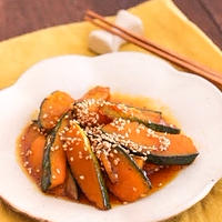 【レシピ】かぼちゃの大学芋風