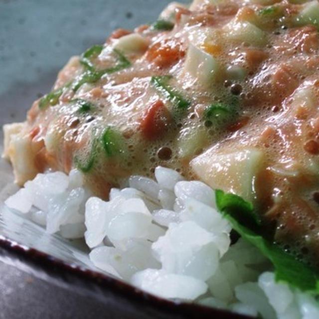 finalventの日記「納豆のネバネバサラダ」今日を乗り越える一品!