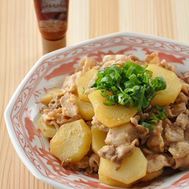 【ヤミツキ系おかず】簡単10分!豚肉とじゃがいものピリ辛炒め