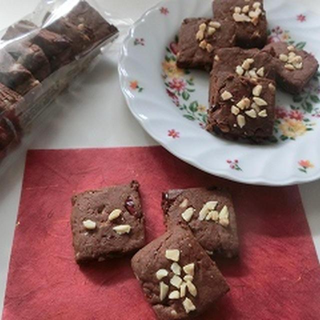 クランベリー&ナッツ&チョコクッキー!!