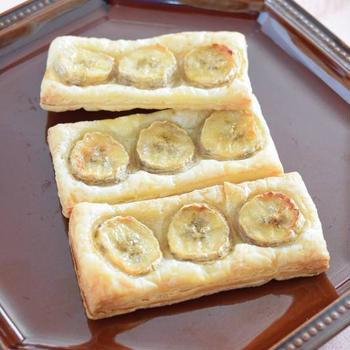 バナナパイ 冷凍パイシートで超簡単!