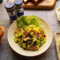 GABANの『ターメリック』と『クミン』を使って、色も香りもいいポテトサラダ♪