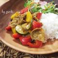 夏野菜のココナッツカレーdeワンプレート♪ by sachiさん