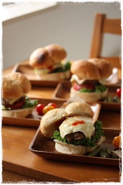 手作りハンバーガーの日