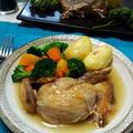 『肉の日』の晩御飯!セージ&レモン風味ローストチキン