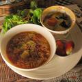 炊飯器ミートソースをリメイク!ミネストローネ風スープ