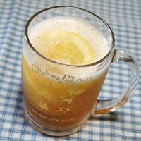 暑い日にピッタリ♪ サクレと炭酸飲料で簡単フローズンドリンク