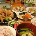 エリンギと豚バラの天ぷら晩ごはん。 by いっちゃん♪さん