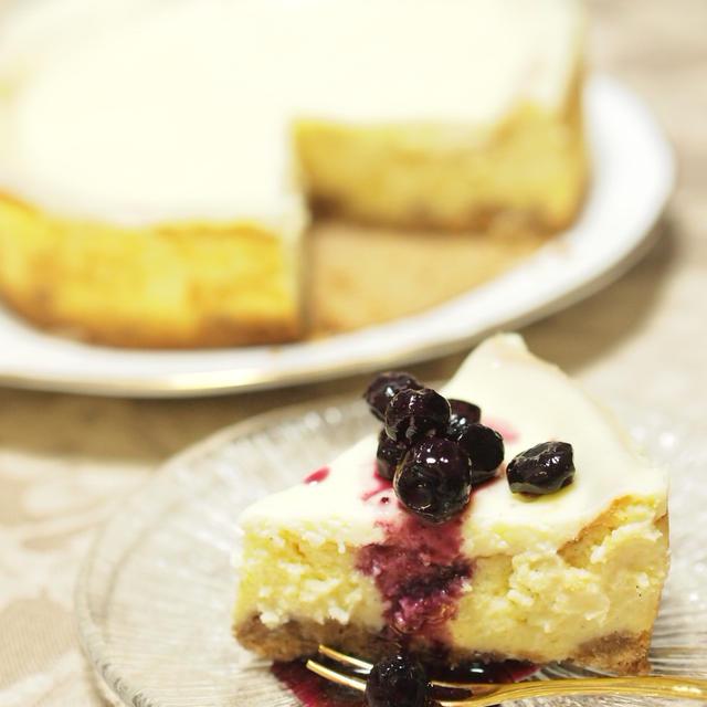 Cheesecake~blueberryソース添え~