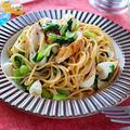 【時短カンタン高たんぱく】ちくわと小松菜のゼンブヌードル梅しそパスタ|レシピ・作り方