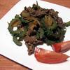 ゴーヤと牛肉のピリ辛炒め