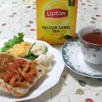 紅茶とひらめき朝食レシピ♪