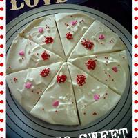 【レシピ】ベークドチョコ&バニラレアWチーズケーキ