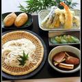 鴨ねぎつけ蕎麦!天ぷらで、蕎麦定食♪