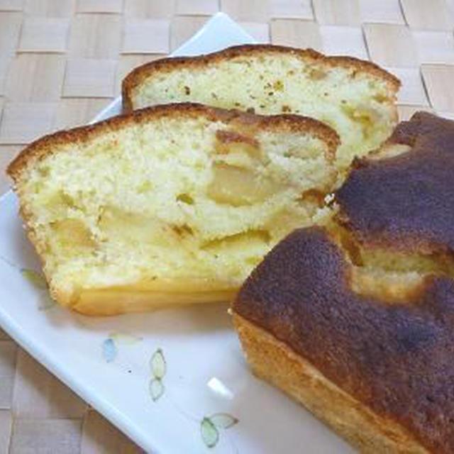 りんごのキャラメルパウンドケーキ