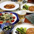 ◆お惣菜並べておうちごはん♪~緩やか糖質制限中