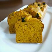 【ハロウィンスイーツ】しっとり濃厚❤南瓜のパウンドケーキ♪