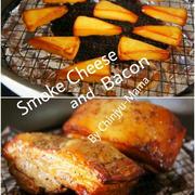 [簡単!フライパンで!] スモークチーズ&ベーコン と もうね、色々書く。
