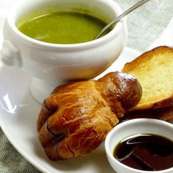 小松菜のデトックススープ