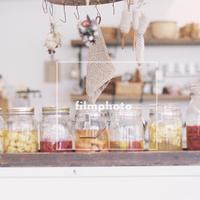 【フィルム写真】カフェやお花など。Contax Ariaでの写真