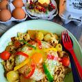 和風大根カレー 天美卵かけごはん&豊菜だいこん和風カレー by 青山 金魚さん