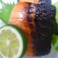 すだちDE鮭のハラミ焼★
