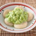お盆の郷土料理。白玉豆腐団子の簡単ずんだ餅。 by musashiさん