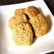 ザクザクピーナッツバタークッキー