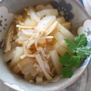 フライパンで10分以下作り置き【大根とえのきの炒り煮】