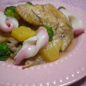簡単!揚げ鶏のパイナップル煮